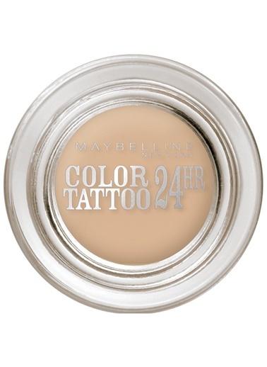 Maybelline Color Tattoo 24H Mat Göz Farı - 93 Creme De Nude - Açık Bej Renkli